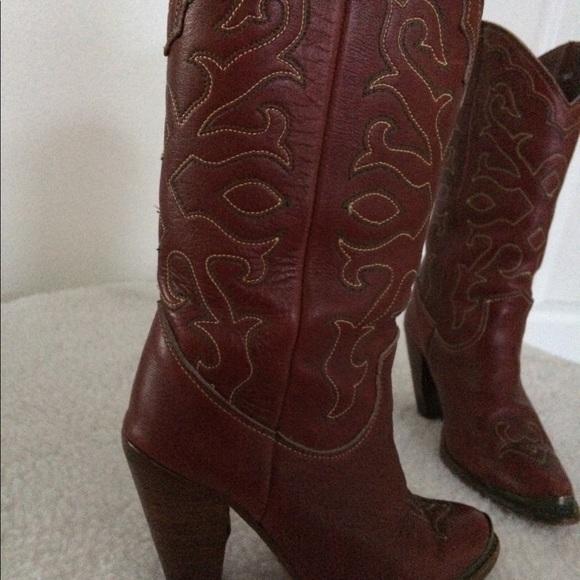 5753413195d Vintage Zodiac Cowboy boots size 5M