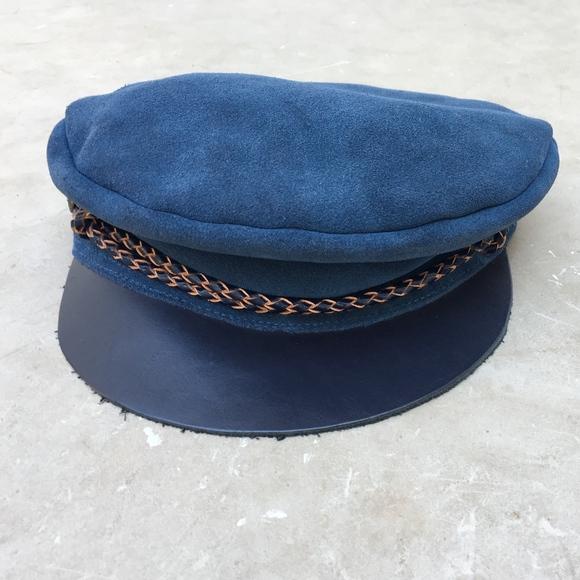 5c4e4c37c03220 Brixton Accessories   Kayla Cap 100 Leather Nwot   Poshmark