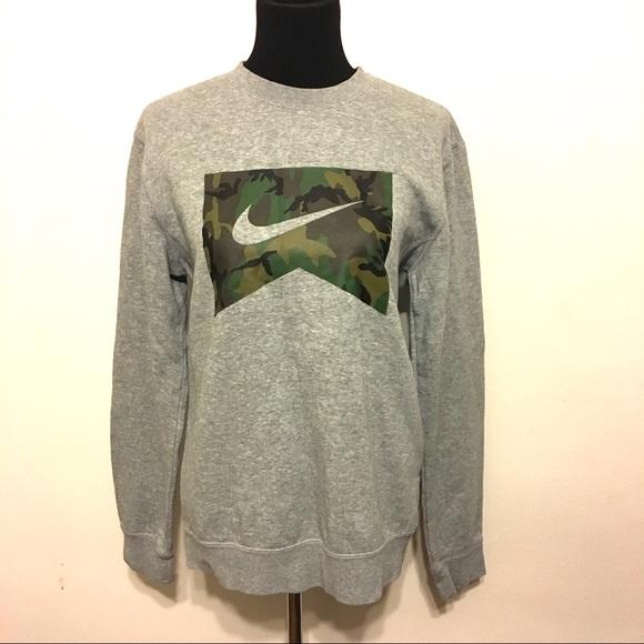 new products sold worldwide new style Nike lowland ERDL woodland crew sweatshirt