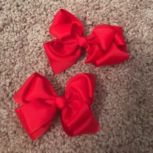 Other - Red Bows