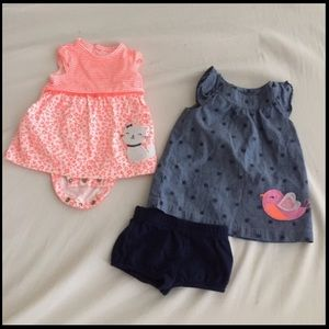 Carter's Dresses - Newborn dress bundle