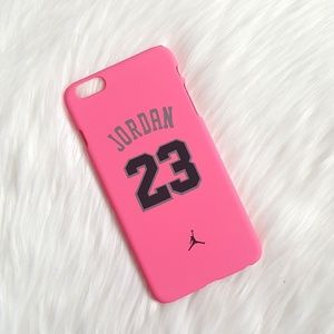 New Jordan 23 iPhone 6 Plus Pink Case!