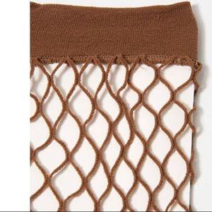 Accessories - 3!pack brown fishnet socks