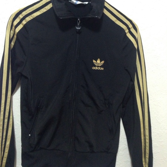 90ba40569aea Jackets   Blazers - Adidas Firebird track jacket black and gold