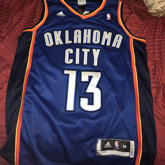 pretty nice a904f 5d549 Throwback OKC James Harden jersey. Size medium.