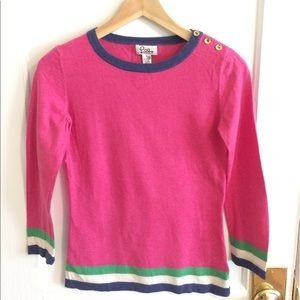 Lilly Pulitzer cashmere silk blend sweater