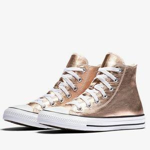 Hp Nwt Converse Chuck Taylor Metallic