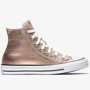 f3d841153ec1ef Converse Shoes - HP! NWT Converse Chuck Taylor Metallic Rose Gold