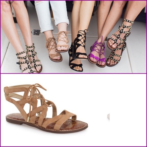 911df60c679 Sam Edelman Gemma Lace Up Gladiator Sandals. M 5998653f522b4565a4066a8e
