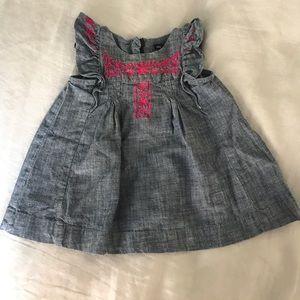 Gap Denim Dress (light discoloration)