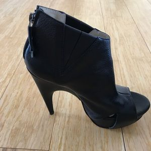 86254dcad CNC Costume National Shoes - CNC Costume National peep toe Booties size 37    7