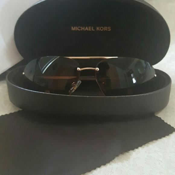 82d37a1dc2b5 MICHAEL KORS M2001S Sunglasses Shiny Gold 717. M_59986a964e8d17945f06a72f