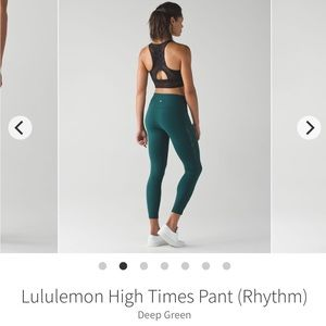 3cd5464751c7ea lululemon athletica Pants | Lululemon High Times Pant Rhythm | Poshmark