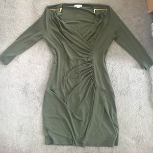 Calvin Klein Army Green Dress- NWOT