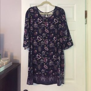 Purple Charming Charlie knee length dress!