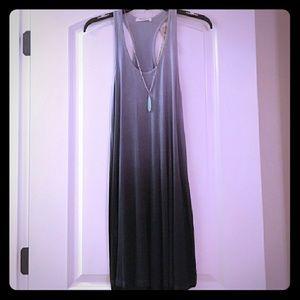 🆕*Blue Ombre Racerback Swing Dress*🆕