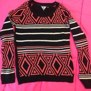 Volcom Long sleeve sweater-60 cotton/40 acrylic
