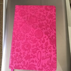 Pink juicy couture notebook