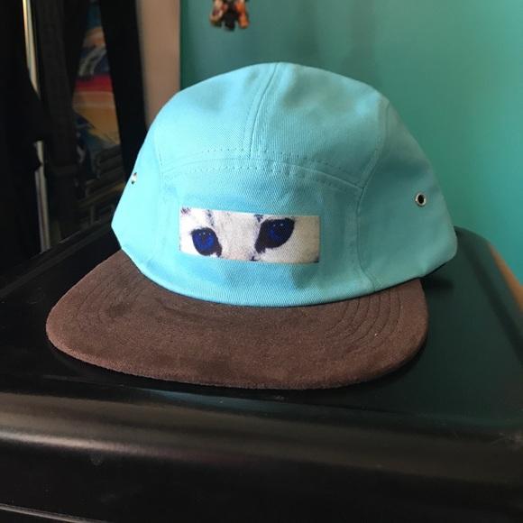 e48234ff223f ODD FUTURE GOLF WANG Cate eye Camp hat. M 59988169fbf6f9c8b7070c75