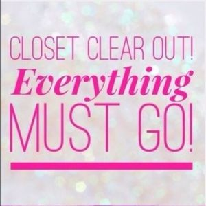 🚨 CLOSET CLEAR OUT 🚨