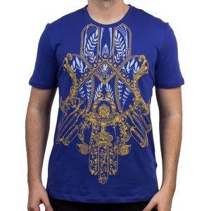 Versace Collection Men's Baroque Hemsa Shirt *NEW
