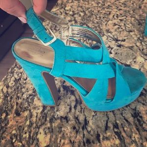 Shoes - Turquoise shoes