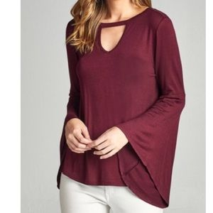 Tops - 🆕 bell sleeves tunic