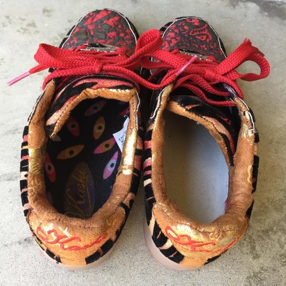 kashi kicks Shoes - Kashi Kicks Pattern Mix Sneakers