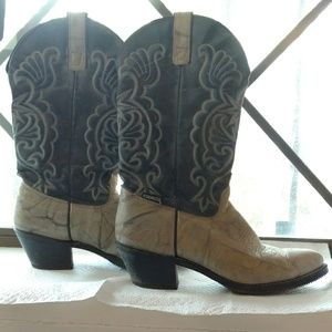 Capezio Shoes - Capezio cowgirl boots back and gray used size 8.5M