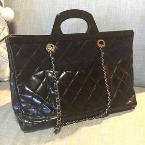 dca88e4945f7 CHANEL Bags | Cc Delivery Tote In Black Large | Poshmark