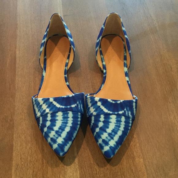 9a1774ac7 J.Crew Factory Shoes | Jcrew Factory Dorsay Flats Sz75 New | Poshmark