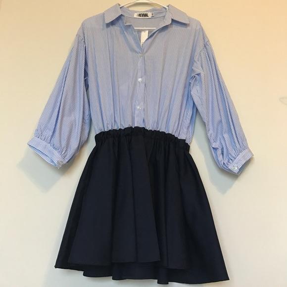 Pixie Market Dresses & Skirts - Pixie Market Margo Stripe Shirt Dress.
