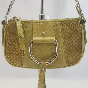 Dolce & Gabbana Snakeskin Chain Purse