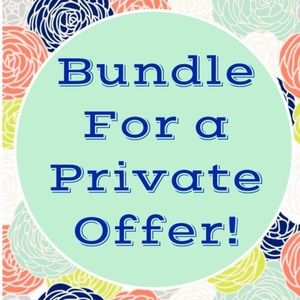 Other - Bundle! And I'll give you an offer 🛍💁💕