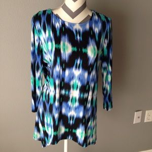 Ladies top by Ruby Rd size Sm EUC