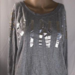 Victoria's Secret medium gray shirt