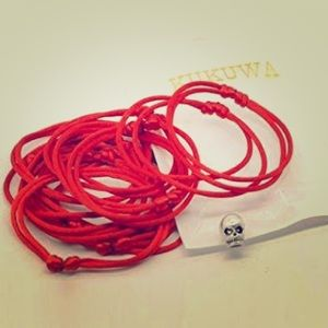 Used, NEW Kabbalah Red Bangle Bracelets - 2 PackBoutique for sale