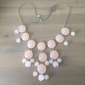 J. Crew Bubble Necklace Pink Blush Costume