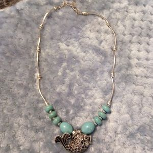 Jewelry - NWT .925 N JADE NECKLACE 16# WITH A FISH