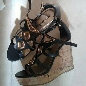 Shoes - Shoes - Heels - Wedges- Size 9- Brand New