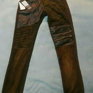 Denim - Steampunk pants