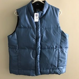 Blue vest size medium