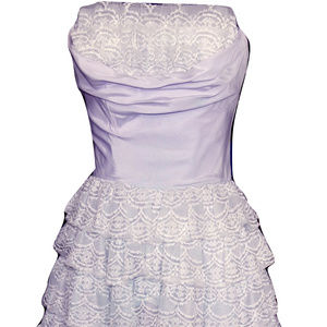 Dresses & Skirts - Vintage 1950s Prom Formal Dress Lots of Lace