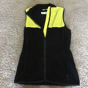 Victoria secret sport size small zip front vest