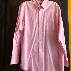 New Kirkland signature non-iron shirt 16 1/2 x35