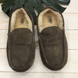 855dfeb3ff20f UGG Shoes | Mens Ascot Slippers With Suede And Shearling | Poshmark