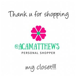 Other - Thank you for shopping my Posh Closet!!! 🎀