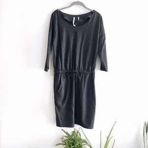 Aritzia drawstring dress