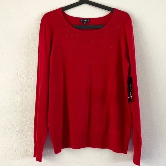 34% off George Sweaters - George Beautiful Red Light Dressy ...