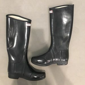 ‼️ Hunter boots black ‼️